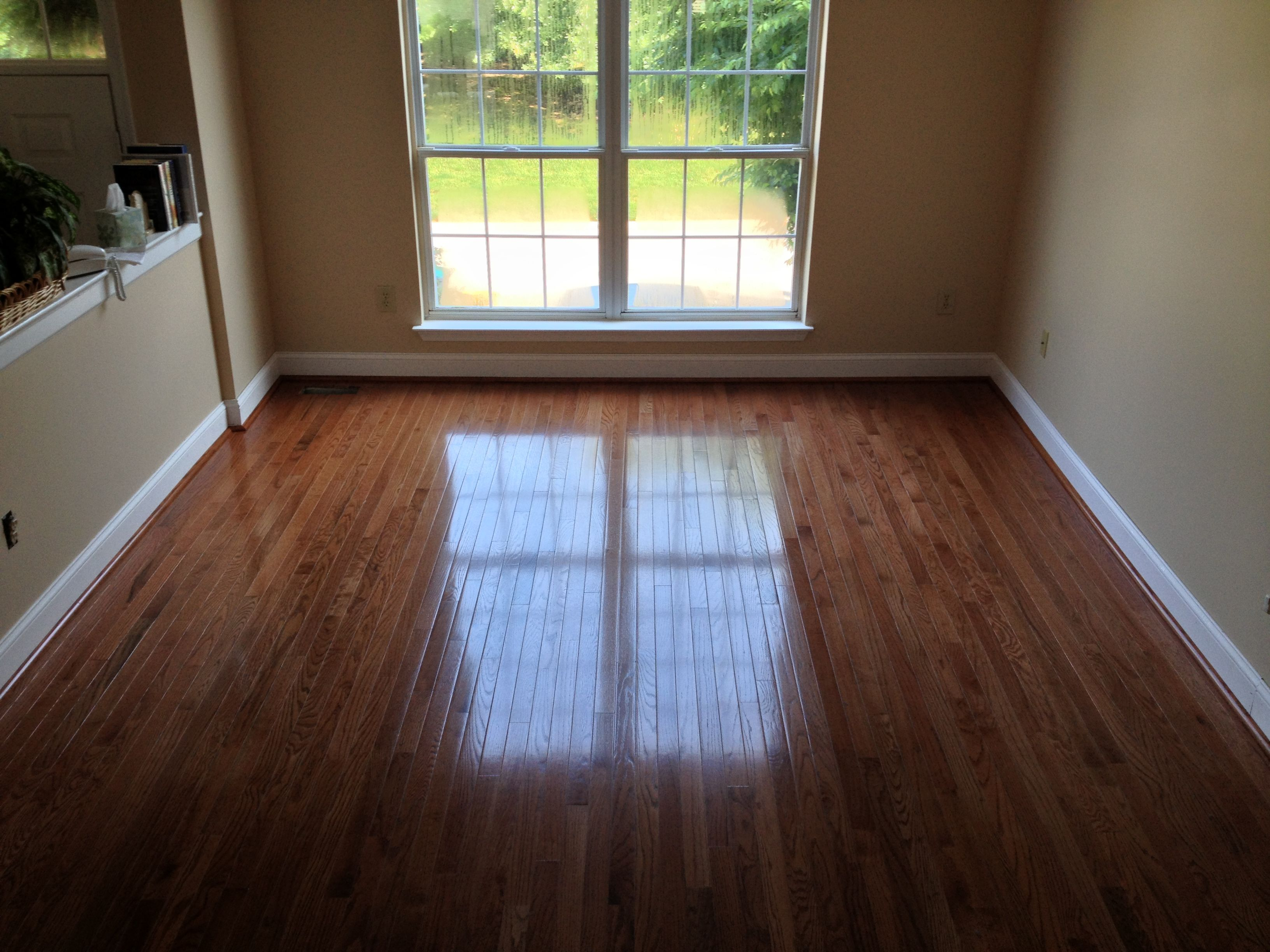 We installed this new bruce real hardwood floor in for Bruce hardwood flooring