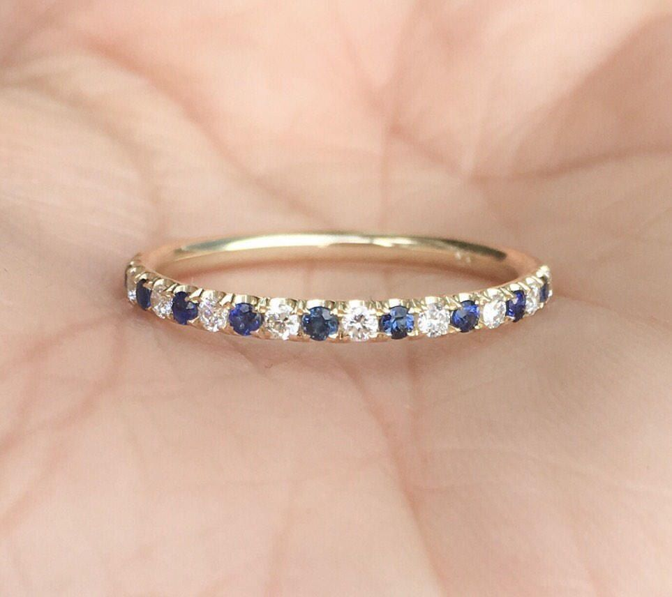 Pin On Alternating Eternity Bands