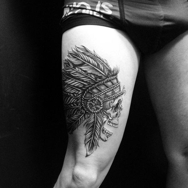 Resultado De Imagen Para Tatuajes En La Pierna Hombres Tatuajes