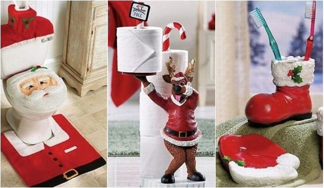 decoracion-navidena-para-cuartos-de-bano-1   Christmas Time ...