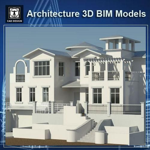 Download this Architecture BIM 3D Models(* rvt file for