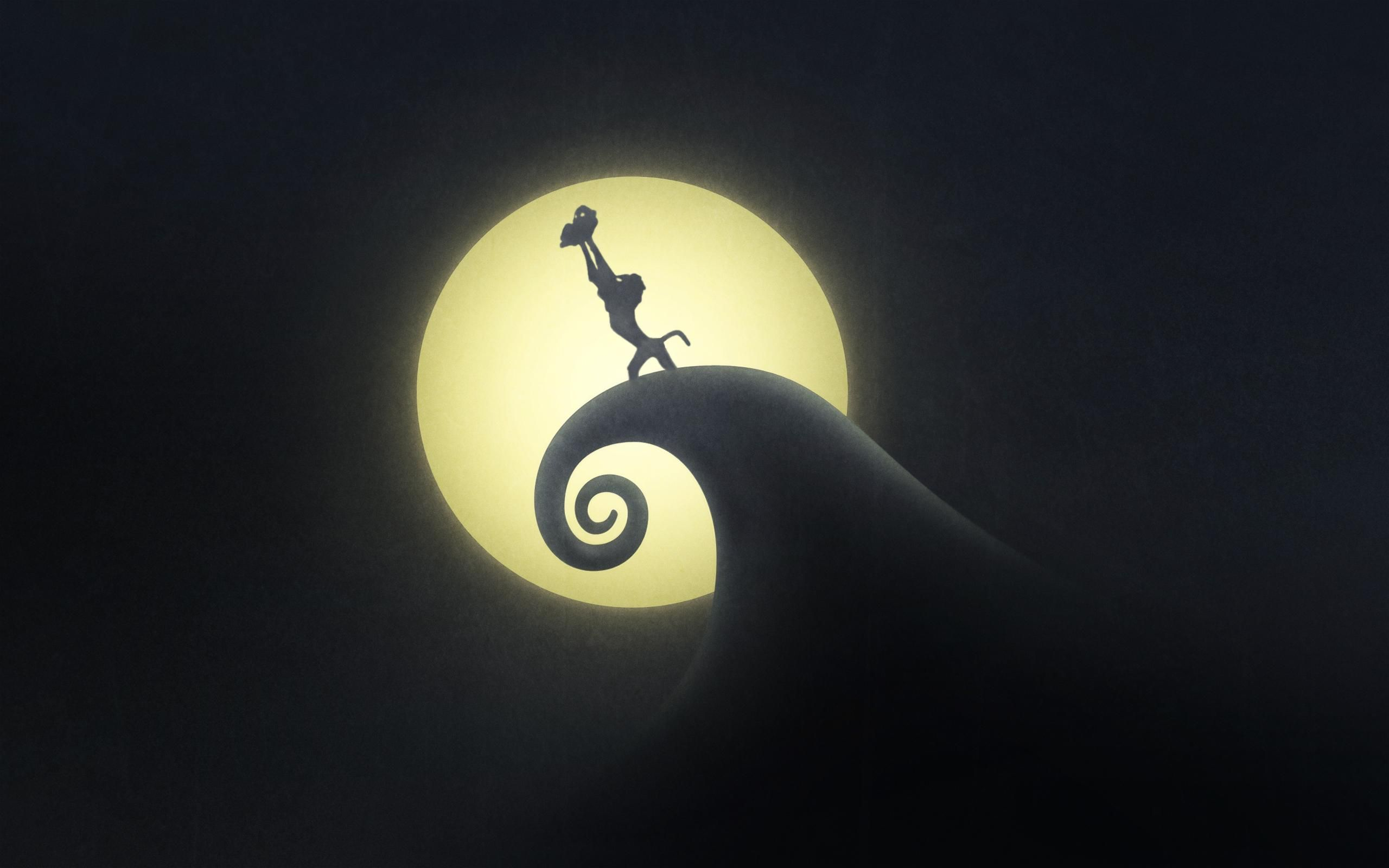 Simba on Spiral Hill?!?! Awesome! | Nightmare Before Christmas ...