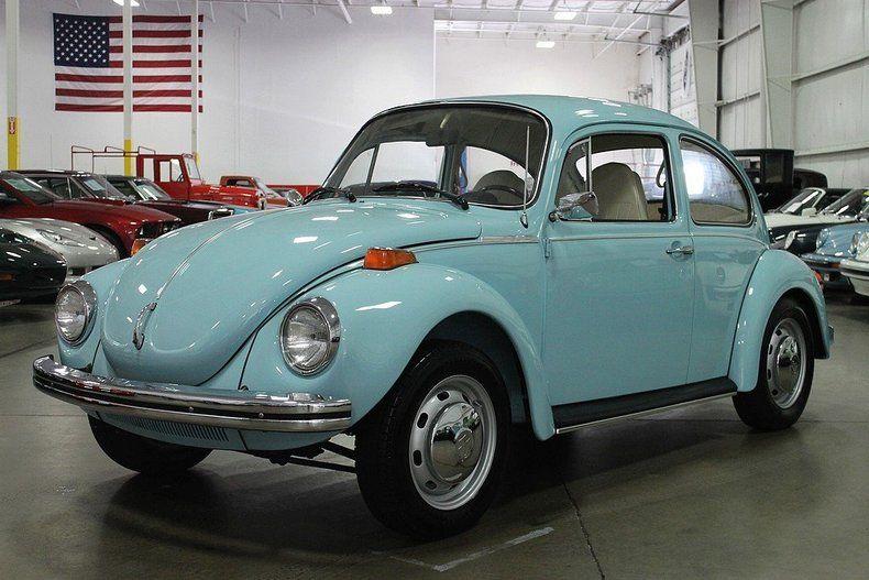 marina blue  volkswagen beetle super beetle  sale mcg dream car pinterest
