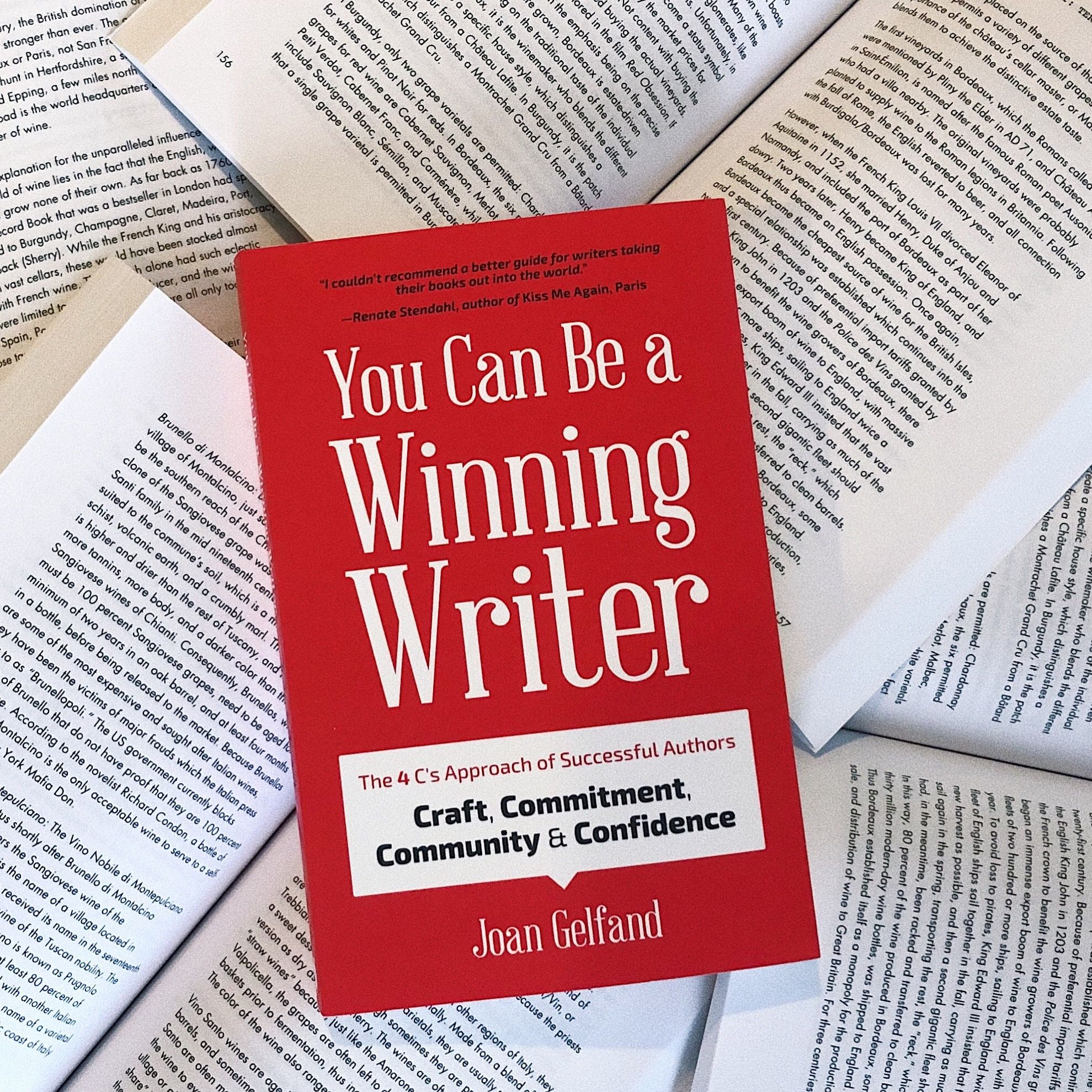 You Can Be A Winning Writer By Joan Gelfand With Images Book
