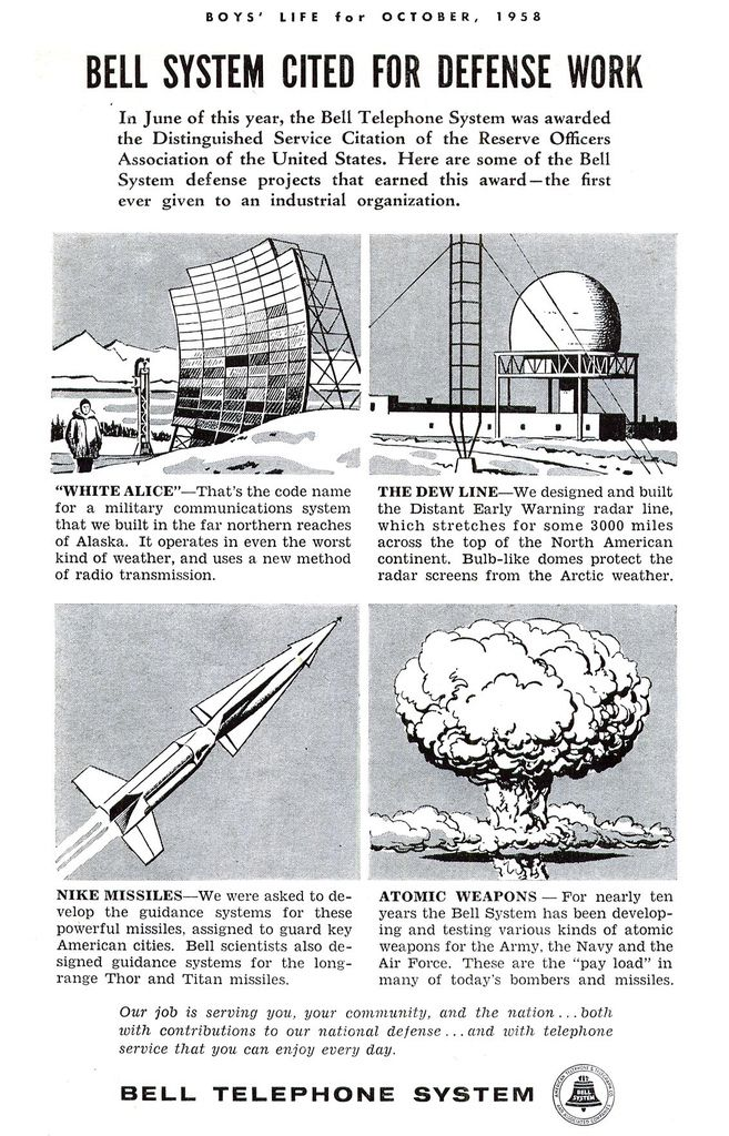 The Involvement Of Bell Telephone Cold War Defense Initiatives Cold War Propaganda Hot War Cold War