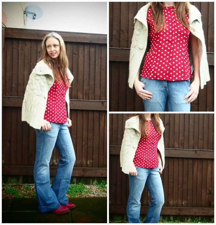 Clairejustine   Over 40 Fashion   UK: Polka Dots And Jeans...