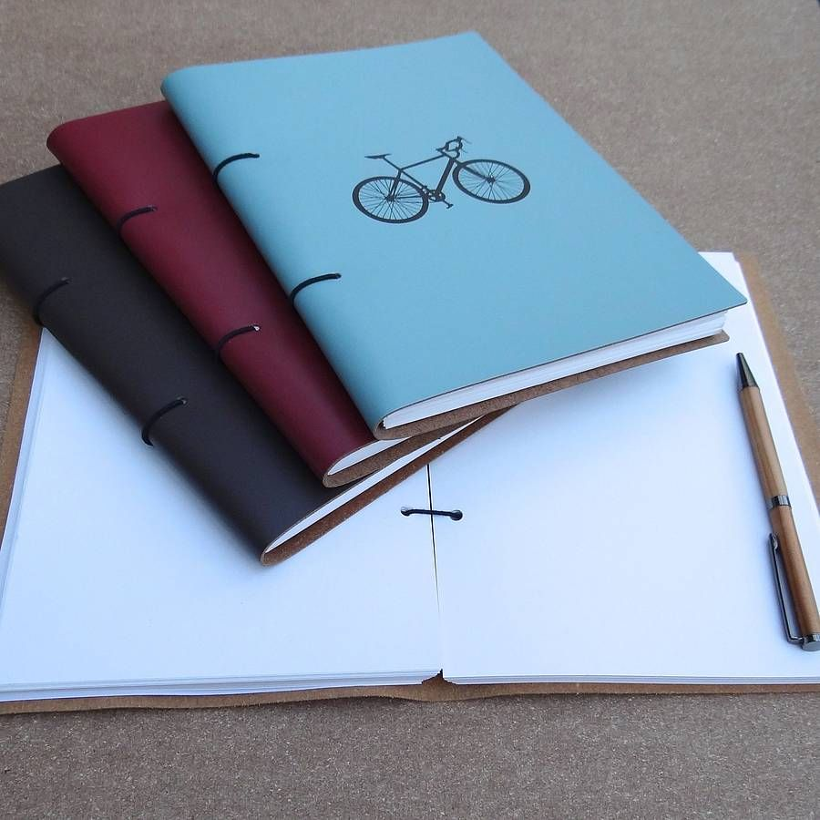 Leather Bicycle Journal (com Imagens)