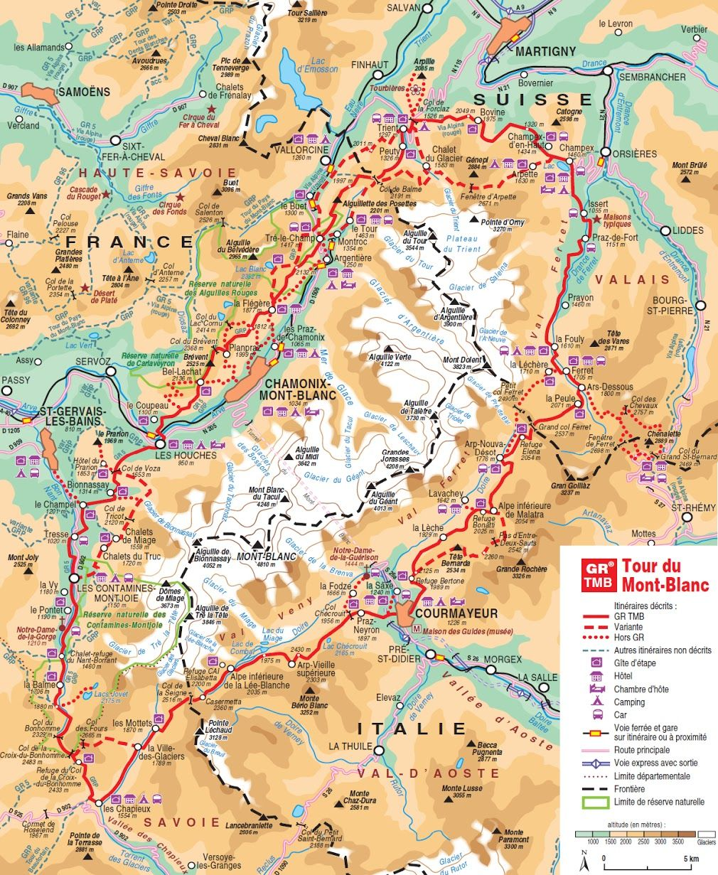 Tmb In June 2012 Mont Blanc 2021 In 2019 Hiking