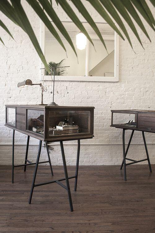 Erica Weiner's Atlantic Ave Shop H A N N A B O N G I SHOP Simple Brooklyn Furniture Store Interior