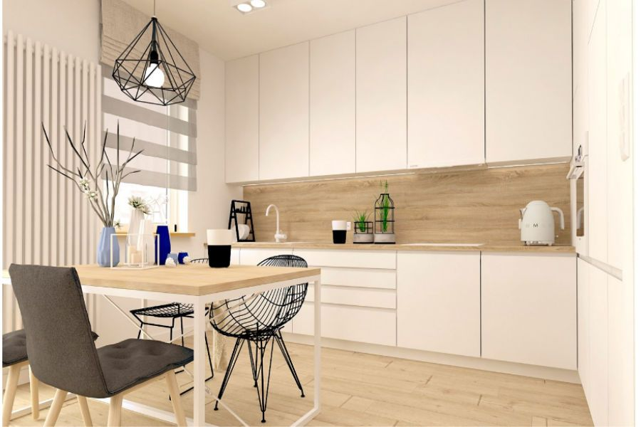 Kuchnia W Stylu Skandynawskim Dom W 2019 Kuchnia