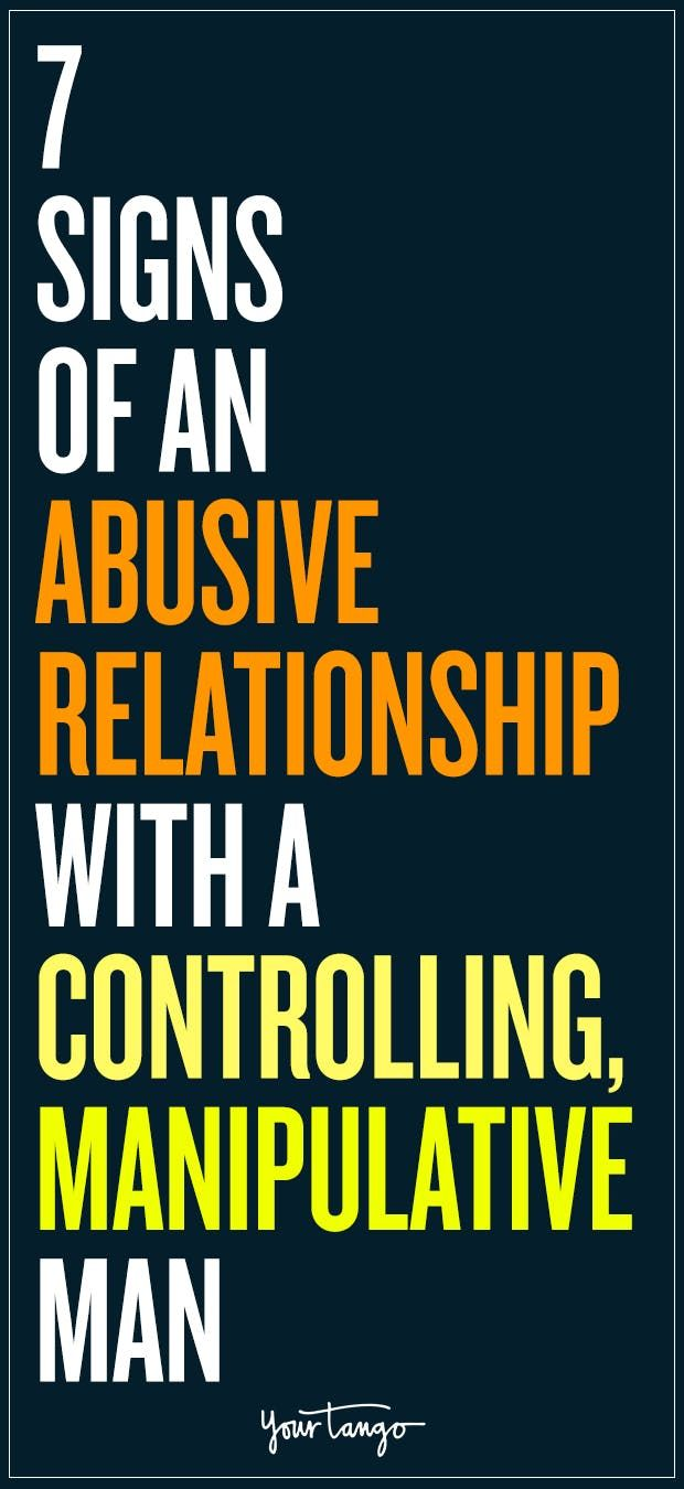 Narcissist signs dating a controlling