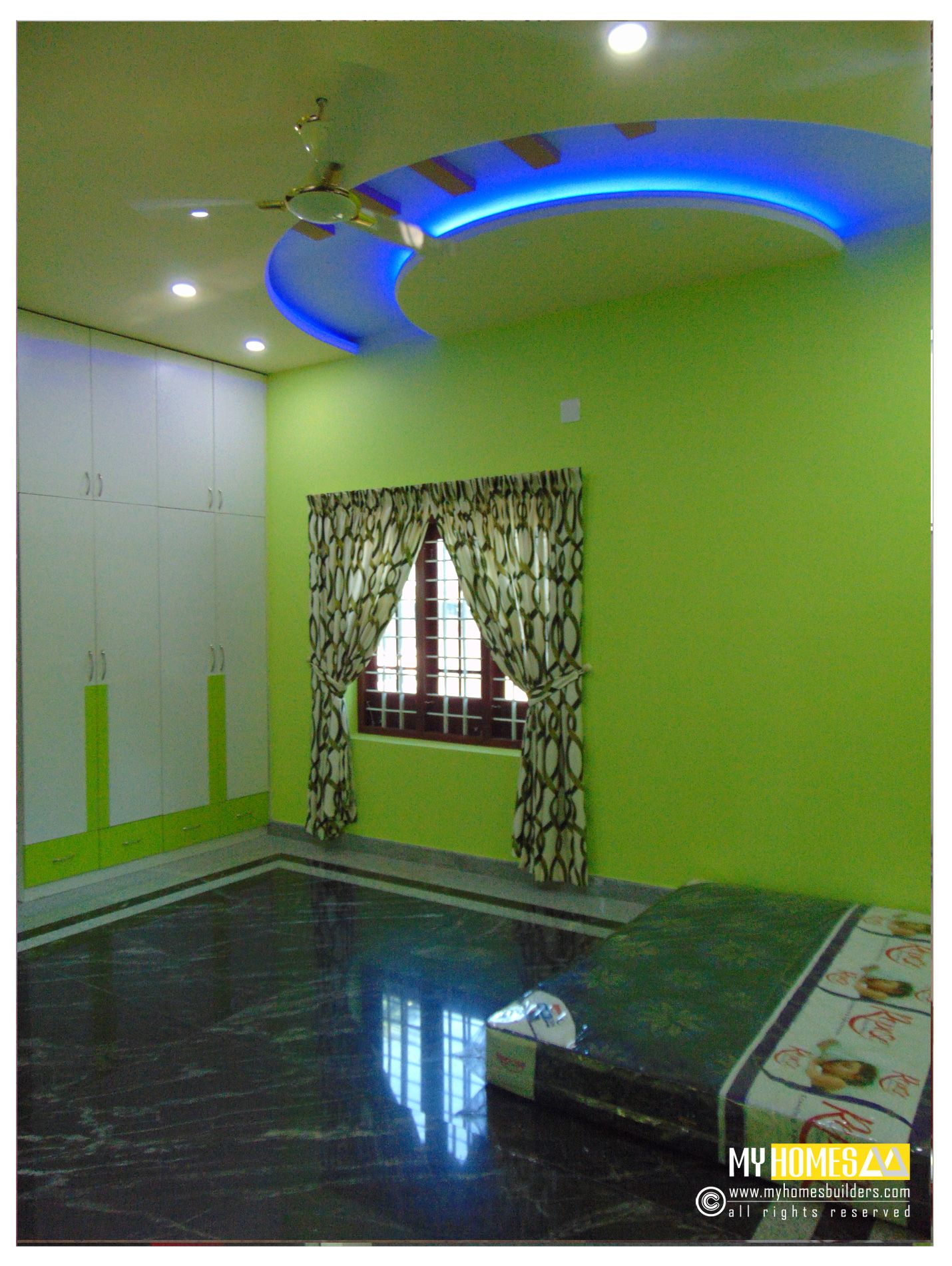 Kerala Interior Design With Photos: Low Cost Kerala Bedrooms Interior Decoration Ideas In