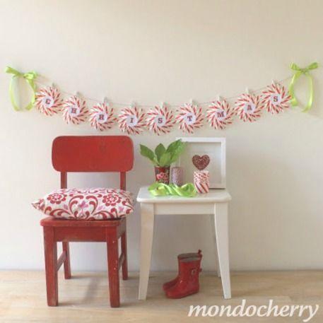 Christmas Garland Ideas diy christmas garland made cute and easy! - craftfoxes | crown fa
