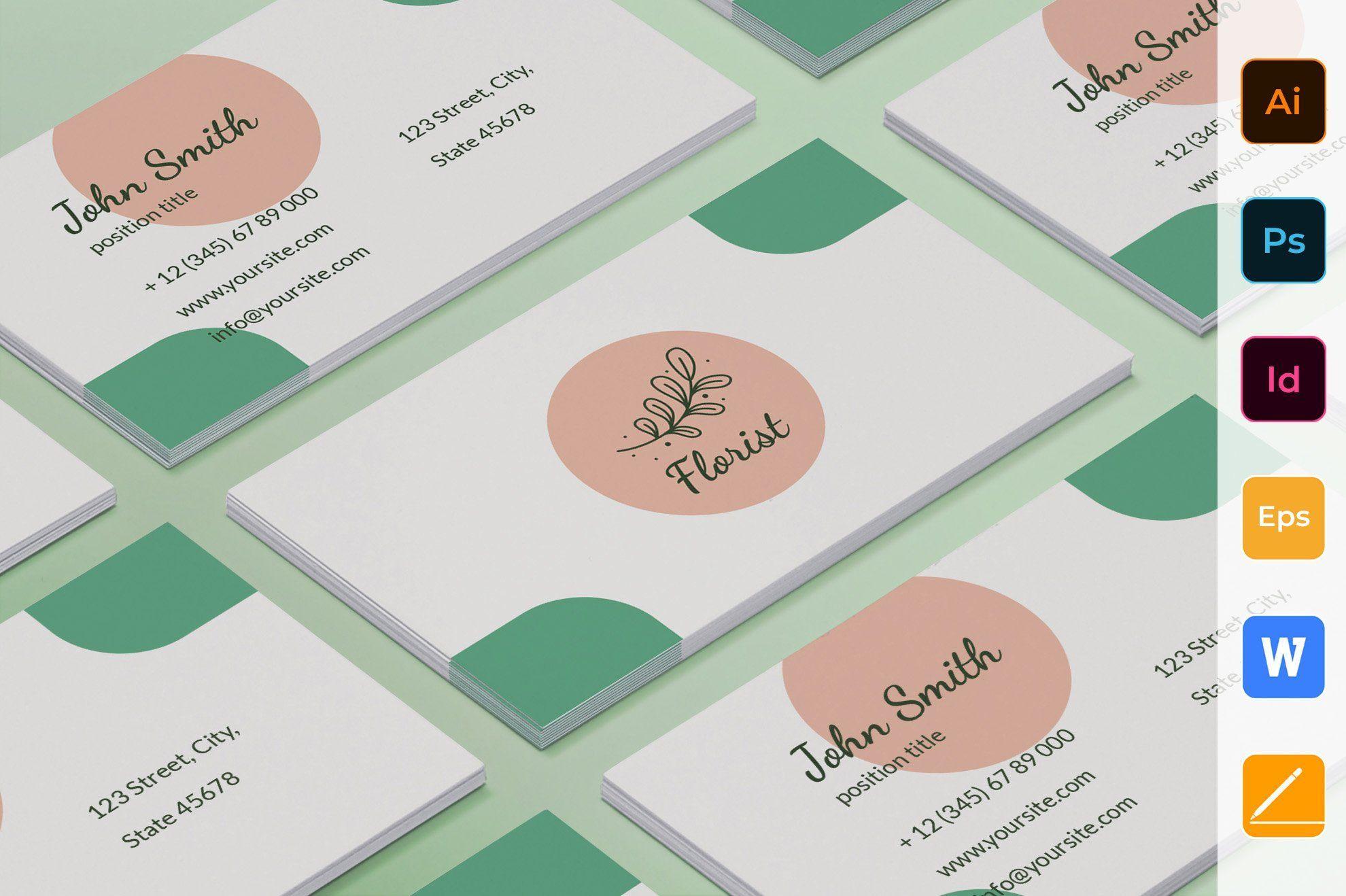 Flower Shop Business Card Business Card Design Unique Business Cards High Quality Business Cards