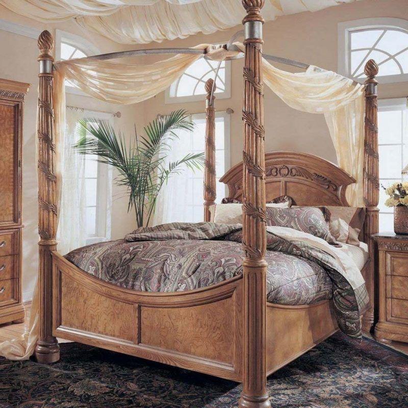 Schlafzimmer Ideen - Himmelbett Anleitung und 42 weitere - schlafzimmer himmelbett