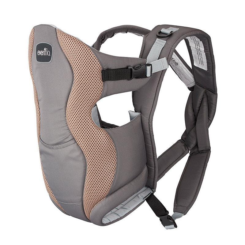 Grey Chevron Brand New Evenflo Breathable Soft Carrier