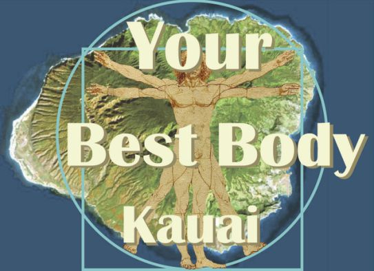 Donia designed the Your Best Body Kauai logo and did all of the