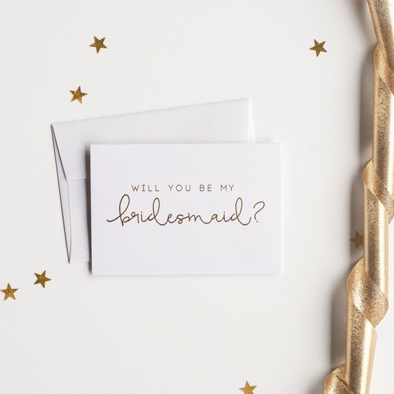 Wedding Card Classic Will You Be My Bridesmaid Card Bridesmaid Proposal Will You Be My Bridesmaid Wedding Card Card To Bridesmaid