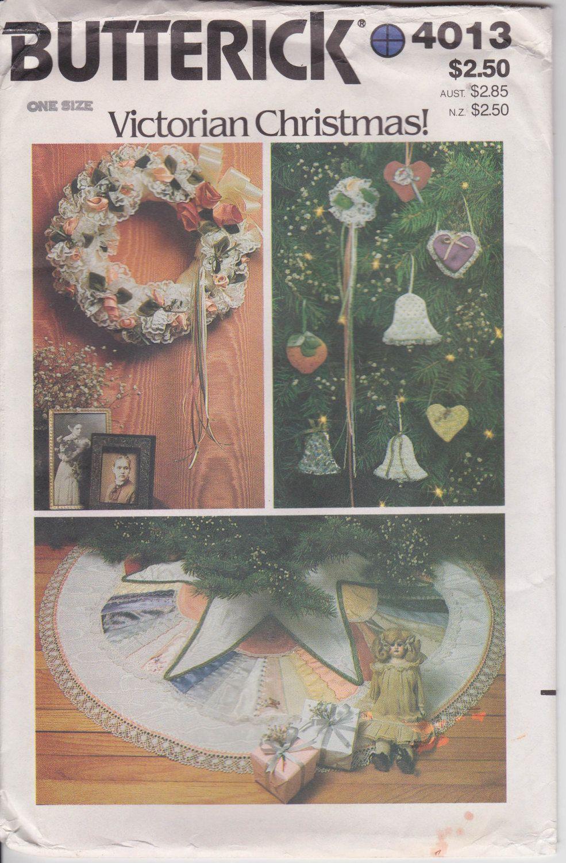 Fabric Crochet Christmas Wreath TreeSkirt pattern basket Shirley Botsford FF