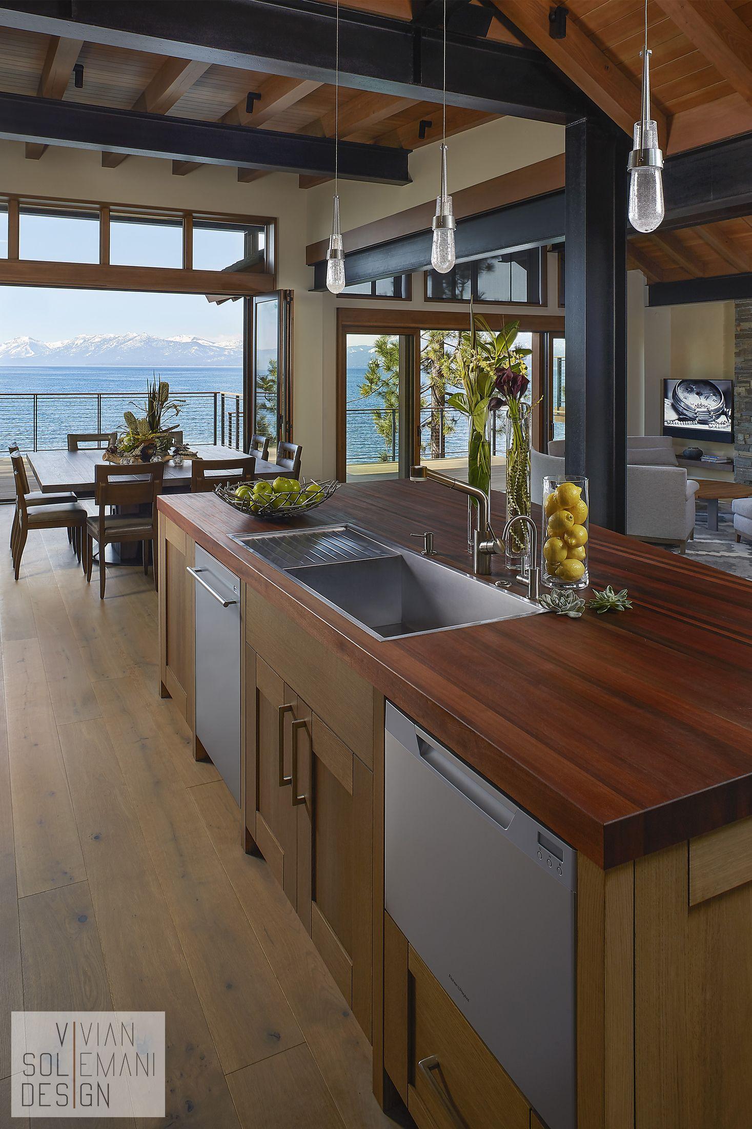 Lake Tahoe New Build   Interior Design by Vivian Soliemani Design ...