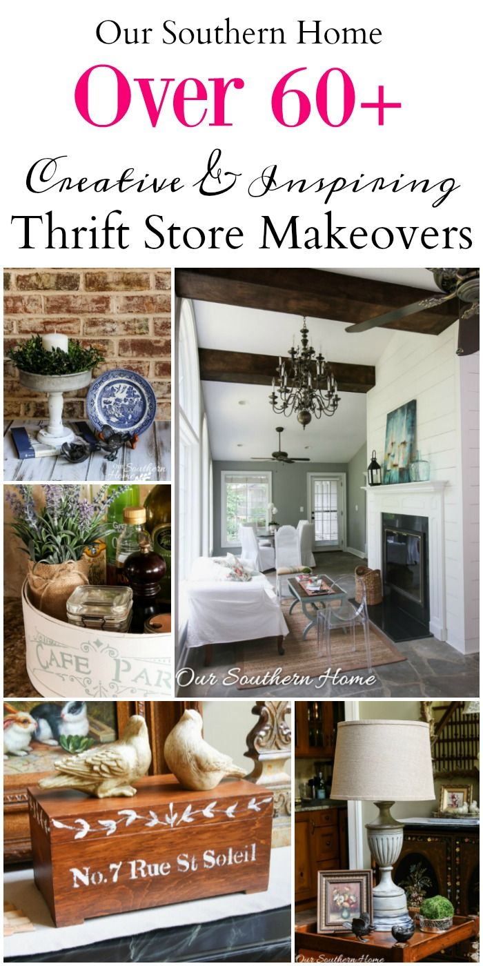 Thrifty Home Decor Makeovers | For the Home | Thrift store ...