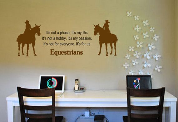 Horse Decal Horse Sticker Quote Decal Quote Sticker Horse Wall Decal