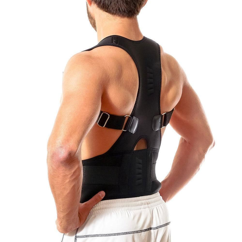 da496a951f Stand a little taller and with confidence wearing this posture corrective  therapy brace. Supporting all the right areas to align your neck and spine