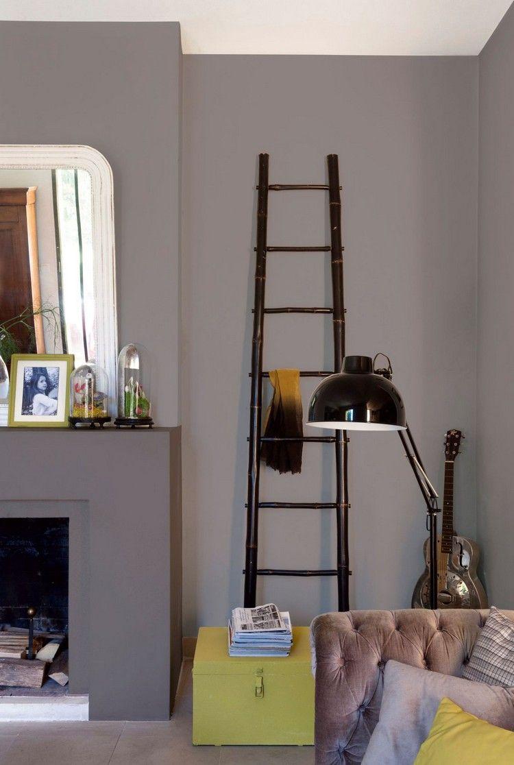 taupe farbe wohnzimmer neu gestalten idee #innendesign #interior ...