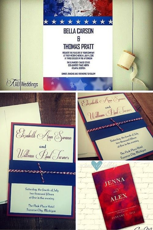 impressive 4th of july wedding ideas get married american style