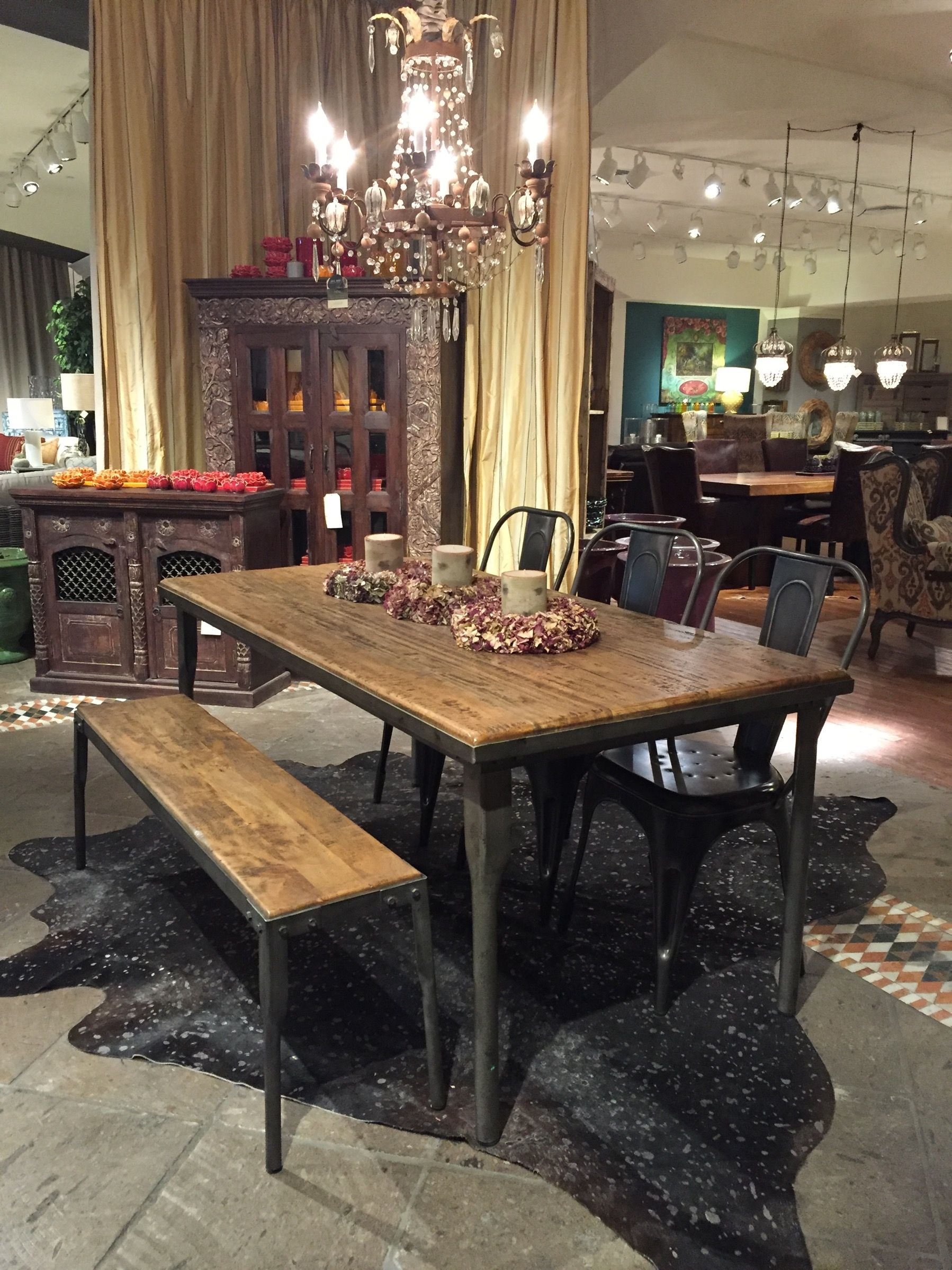 Amazing Arhaus Workshop Table   70