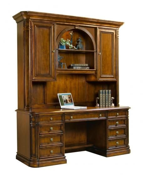 Best Home Office Furniture Brands: Winchester Credenza And Deck, Sligh Furniture