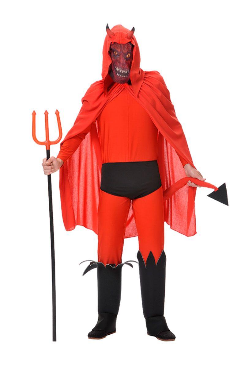 disfraz de demonio de miedopara hombrespara