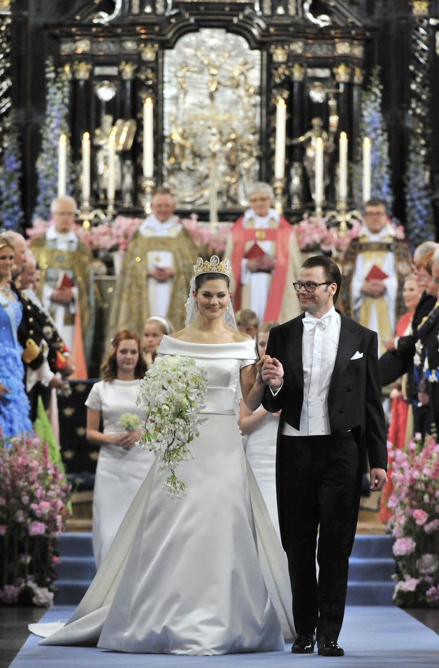 Crown Princess Victoria of Sweden and Daniel Westling | Marriage ...