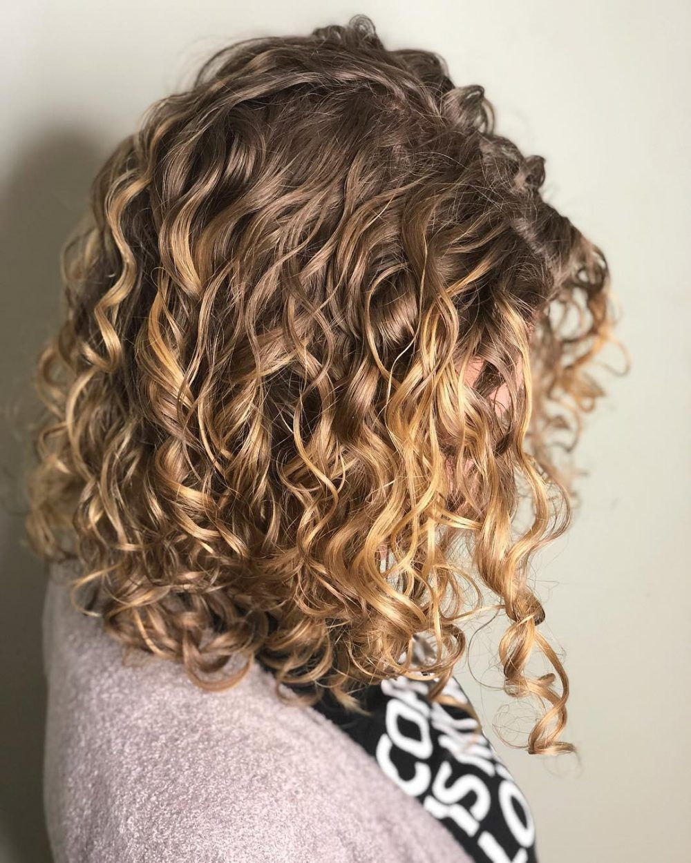 Pin On Shoulder Length Curly Hair