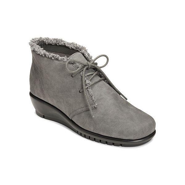 Womens Boots Aerosoles Calendar Grey