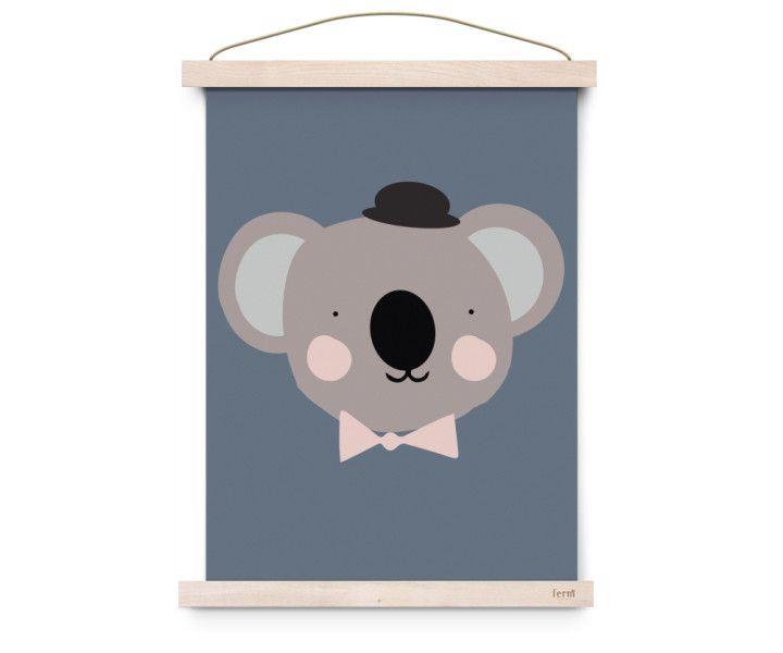 Eef Lillemor poster Sir koala | LittleLovedOnes