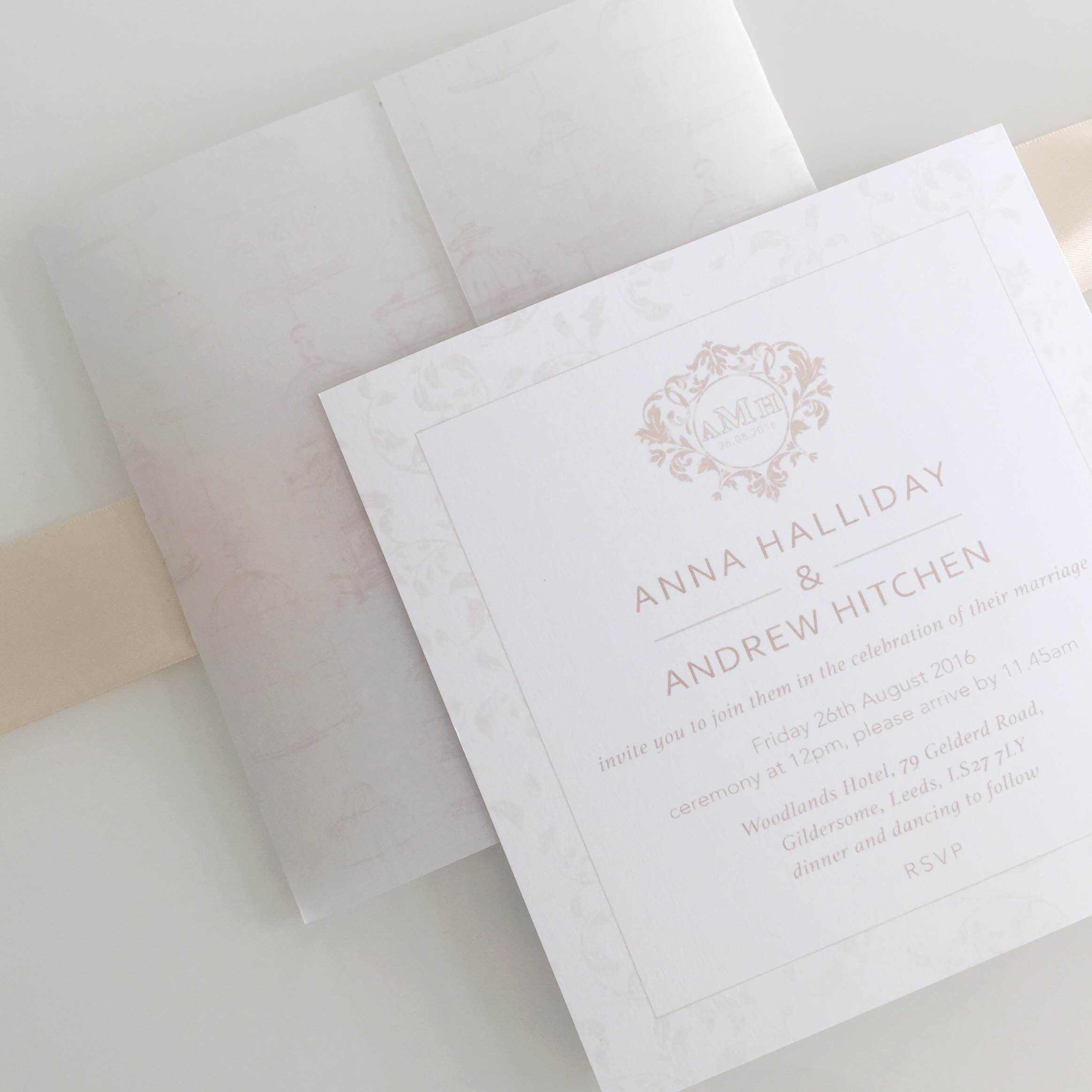 birdcage wedding invitation template%0A b e s p o k e    wedding stationery invitation design    this vintage  inspired design has a delicate birdcage print on G
