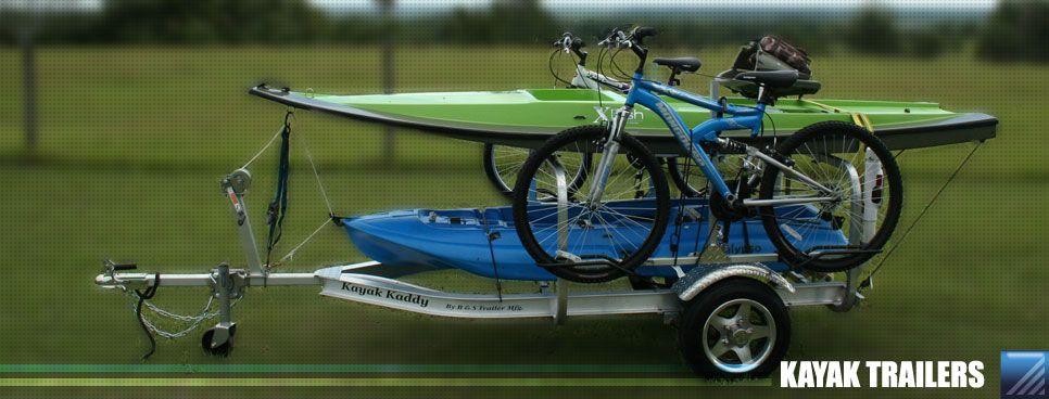 Custom Kayak Trailers Well Built