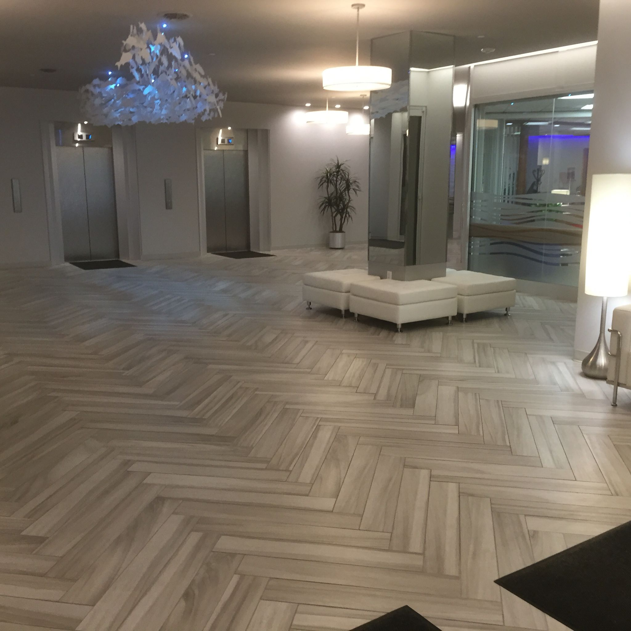 wood porcelain tile. daltile acacia valley color av05 ash 6x36