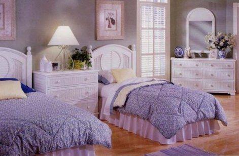 white wicker bedroom furniture - Google Search | Ladypurple88--#5 ...