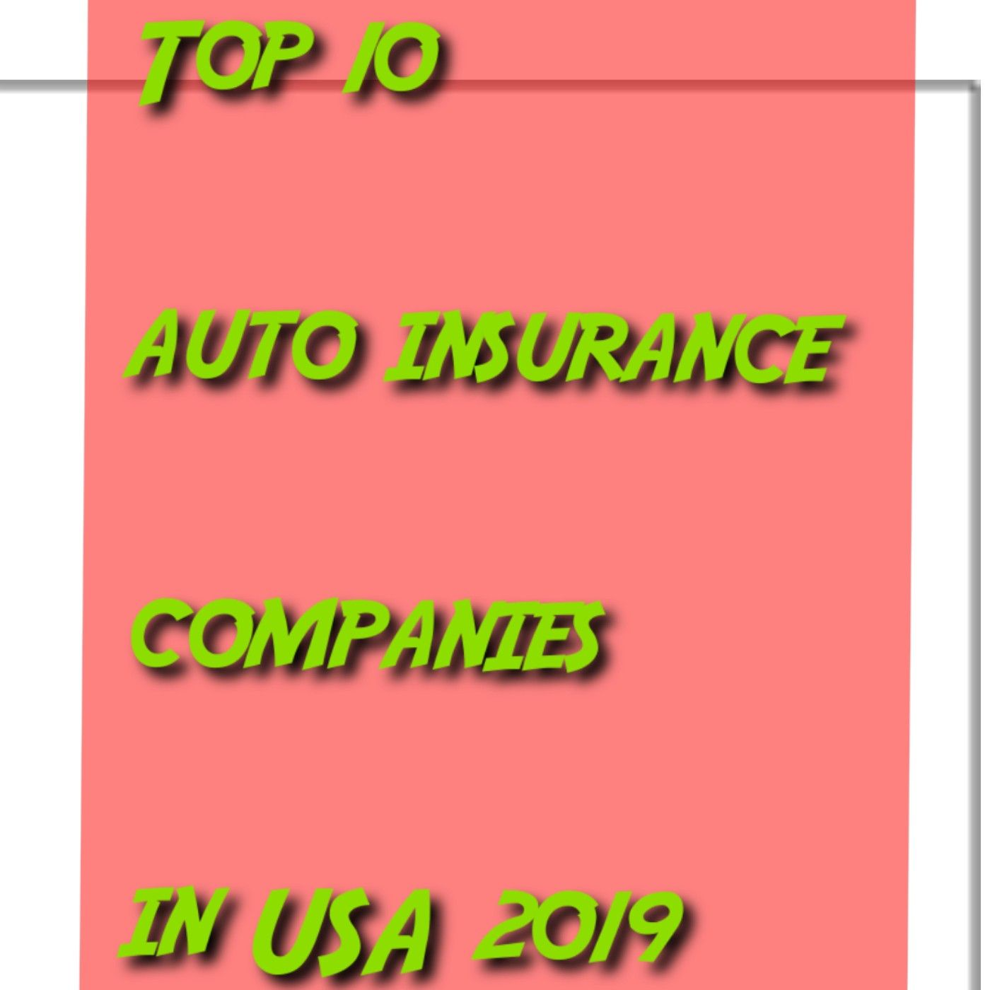 You Will Be Suprise About The Top 8th Rating Insurance Reviews Auto Insurance Companies Best Auto Insurance Companies Car Insurance