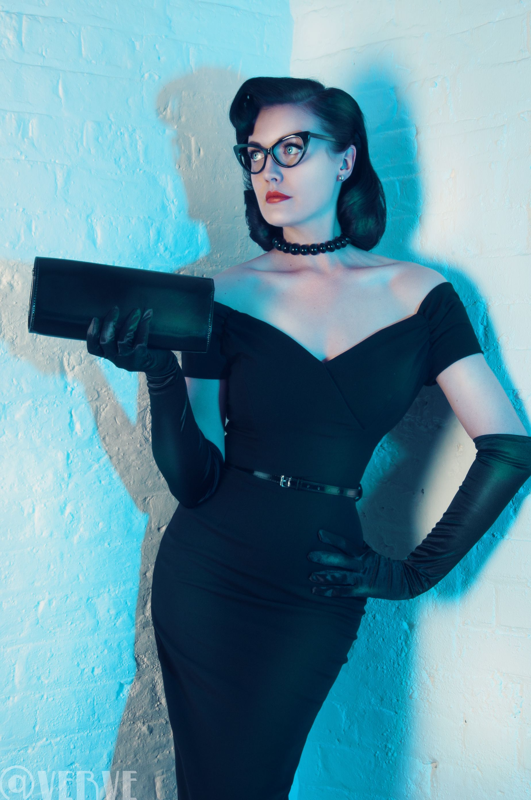 ALL OF THIS!  Be the ultimate femme fatale in our Fatale Black Pencil Dress #fashion #style #elegant #chic #classic #sophisticated #retro #vintage #pinup #LBD #littleblackdress #theprettydress #theprettydresscompany