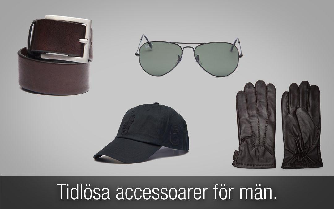 2905ecbd2314 Tidlösa accessoarer för män som alltid kommer vara inne. Stilrena  accessoarer gör pricken över i