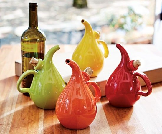 Olive Oil Decanters 19 00 Each At Napastyle Com Napa Style