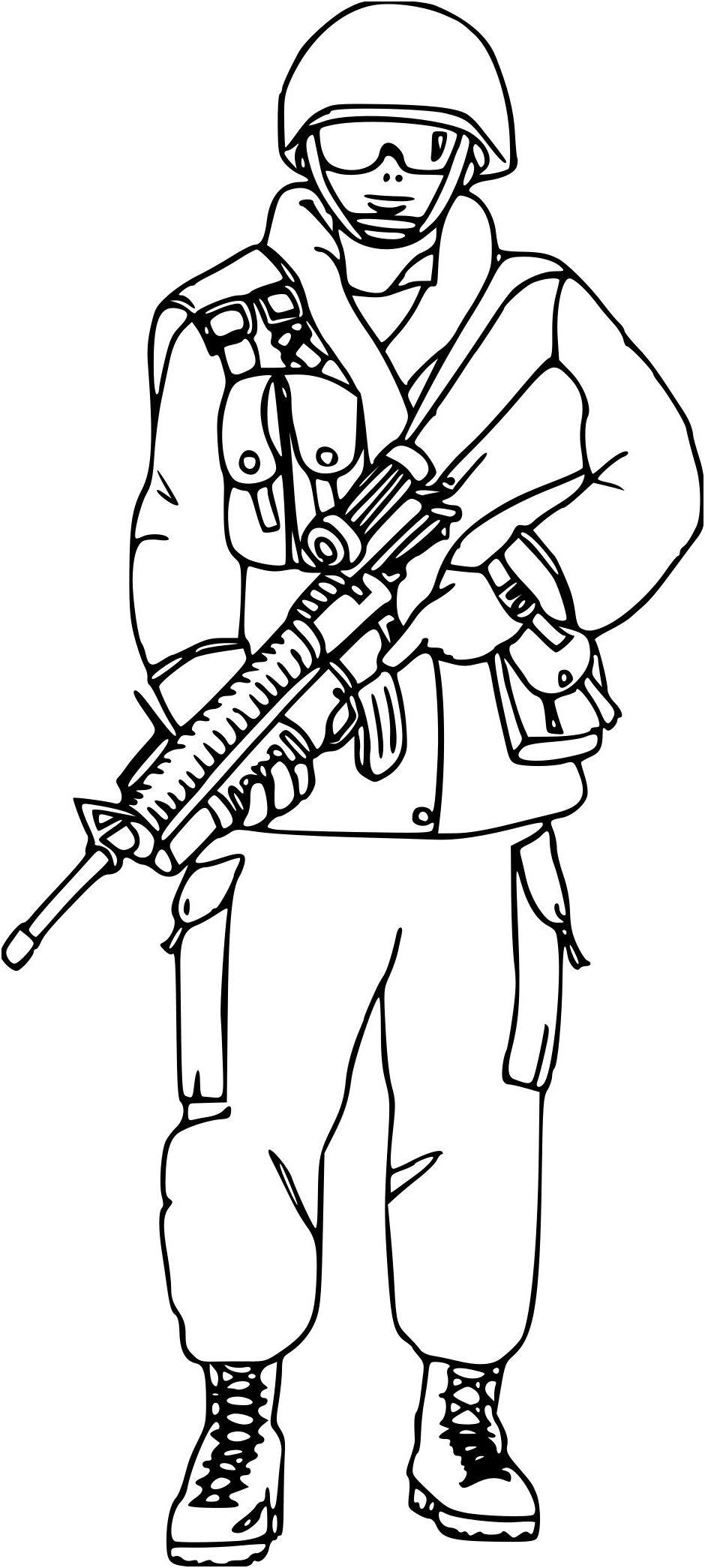 14 Aimable Coloriage Militaire soldat Stock en 2020 | Coloriage, Dessin militaire, Coloriage en ...