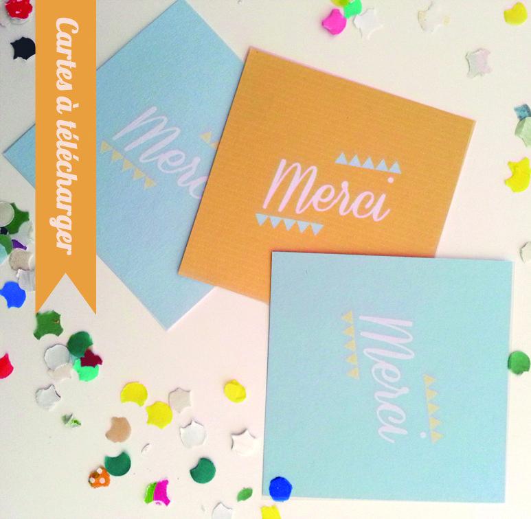 Carte de remerciement invitation mariage gratuite