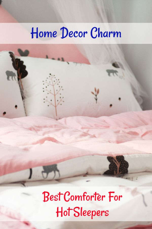 Best Comforter For Hot Sleepers Home Decor Charm Bedroom Bed Design Cool Comforters Bed Pillows