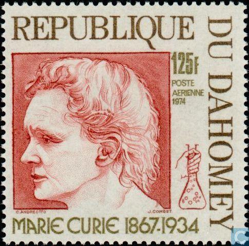 Resultado de imagem para selo de MARIE CURIE