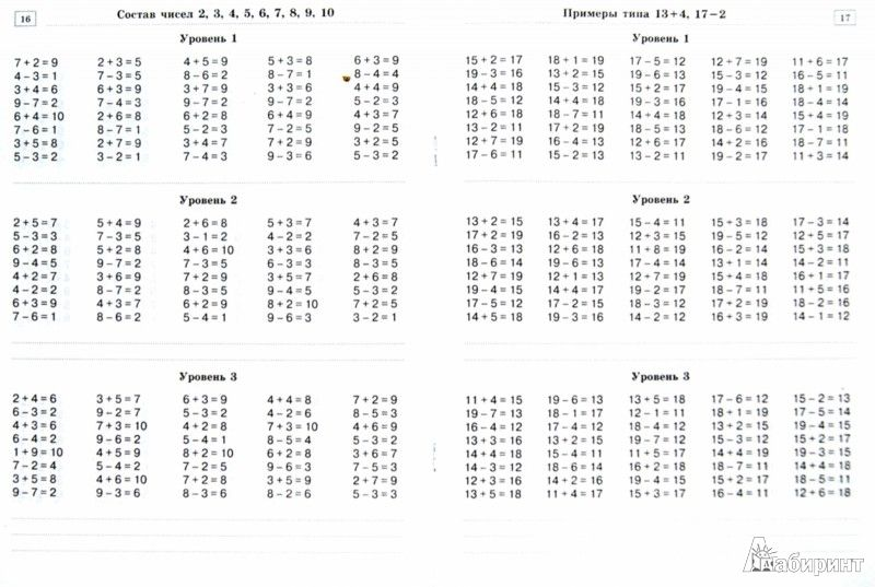 гдз 1 класс узорова нефедова