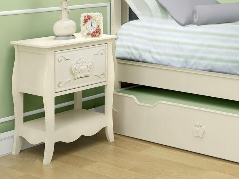 I love the lines of this nightstand - could replicate using MDF or